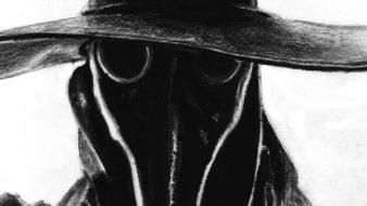 Plague doctor gray Wallpaper
