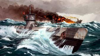 Ships submarine war wallpaper