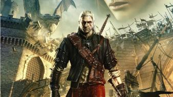 The witcher 2 assassins of kings artwork wallpaper