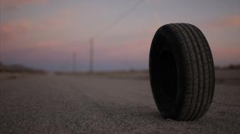 Tyres cars macro rubber wheel Wallpaper