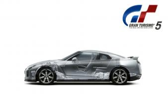5 nissan gtr playstation 3 xray cars wallpaper