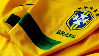 Brazil football jersey soccer wallpaper