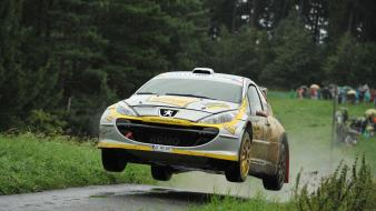 Czech republic intercontinental rally challenge peugeot asphalt cars wallpaper