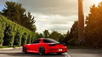 Domestic market mazda rx7 cars red vehicles wallpaper