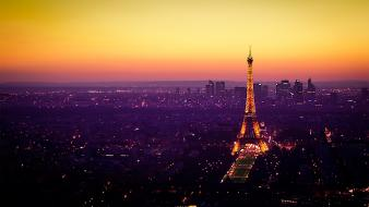 Eiffel tower france paris cityscapes horizon wallpaper