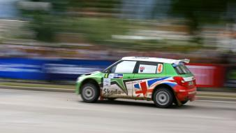 Rally challenge skoda fabia s2000 asphalt cars Wallpaper