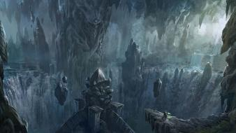 Starcraft ii landscapes video games wallpaper
