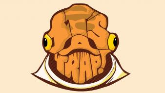 Admiral ackbar wars: the return of jedi wallpaper