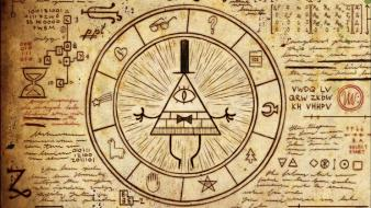 Artwork mystery symbols symbolism mystic gravity falls wallpaper