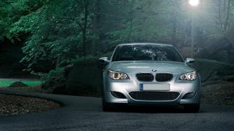 Bmw m5 dark forest wallpaper