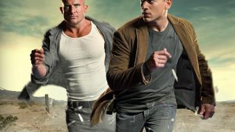 Break michael scofield dominic purcell lincoln burrows wallpaper
