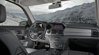 Car interiors suv mercedes-benz glk-class mercedes benz wallpaper