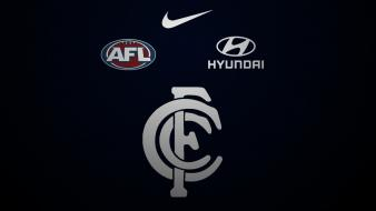 Carlton blues wallpaper