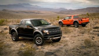 Cars ford f150 svt raptor pickup trucks Wallpaper