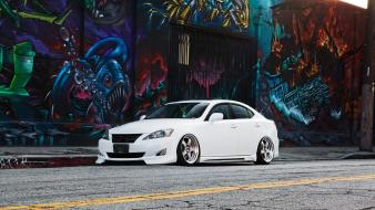Cars graffiti roads tuning tuned stance lexus is wallpaper