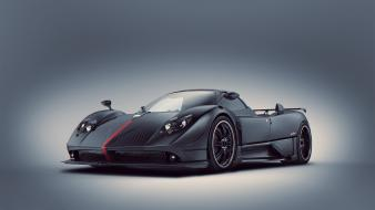 Cars pagani zonda supercars black wallpaper