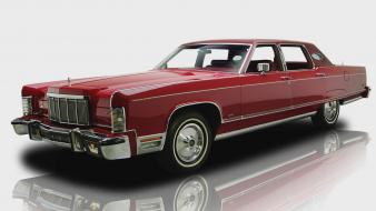 Cars town lincoln widescreen 1976 Wallpaper