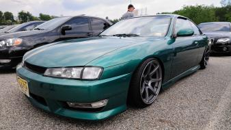 Cars vehicles nissan 200sx jdm silvia s14 kouki Wallpaper