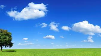Clouds nature horizon wallpaper