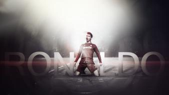Cristiano ronaldo real madrid football player wallpaper