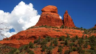 Desert arizona rock formations wallpaper
