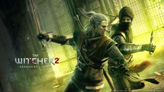 Duel the witcher wiedzmin geralt of rivia wallpaper