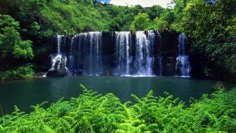 Falls kauai waterfalls Wallpaper