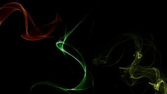 Green abstract red yellow colors background wallpaper