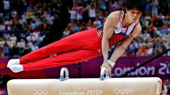 Gymnast athletes gymnastics olympics 2012 kohei uchimura wallpaper