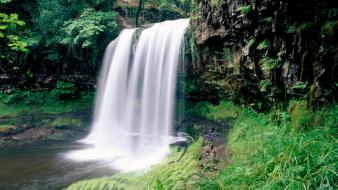 Landscapes wales south waterfalls national park wallpaper