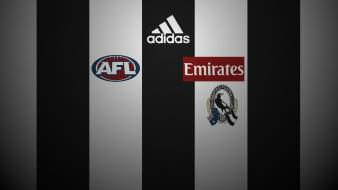 Magpies collingwood wallpaper