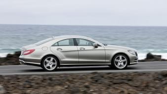 Mercedes-benz cls-class side view cls mercedes benz wallpaper
