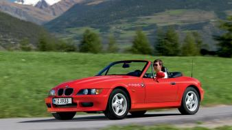 Nature red bmw z3 1996 Wallpaper