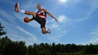Nba basketball rookies portland trailblazers wallpaper