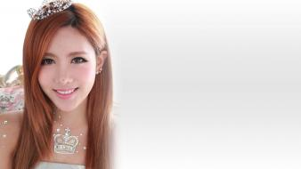 People asians korean k-pop t-ara qri faces wallpaper