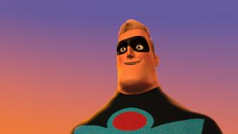 Pixar superheroes masks the incredibles Wallpaper