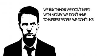 Quotes club edward norton film tyler durden wallpaper