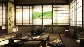 Room tatami Wallpaper