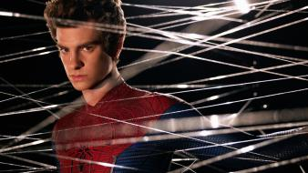 Spider-man web andrew garfield the amazing wallpaper