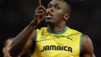 Sports jamaica athletes usain bolt olympics 2012 wallpaper