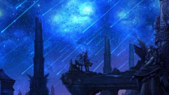 Stars fantasy art the last story wii Wallpaper