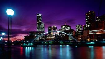 Sunset australia melbourne wallpaper