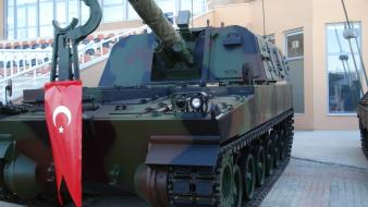 Turkey artillery firtina turkish army obus 155 mm Wallpaper