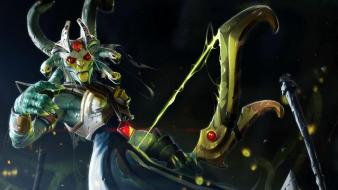 Video games medusa heroes dota 2 gorgon wallpaper