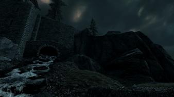 Water the elder scrolls v: skyrim wallpaper