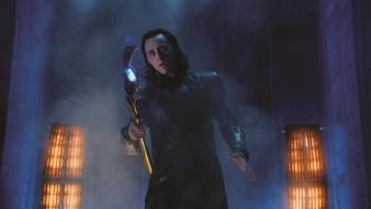 Weapons loki tom hiddleston the avengers (movie) sceptres wallpaper