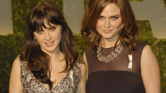 Women zooey deschanel emily wallpaper