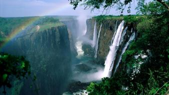Zimbabwe waterfalls victoria falls wallpaper