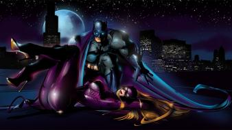 Batman dc comics catwoman wallpaper