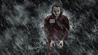 Batman the joker heath ledger dark knight wallpaper